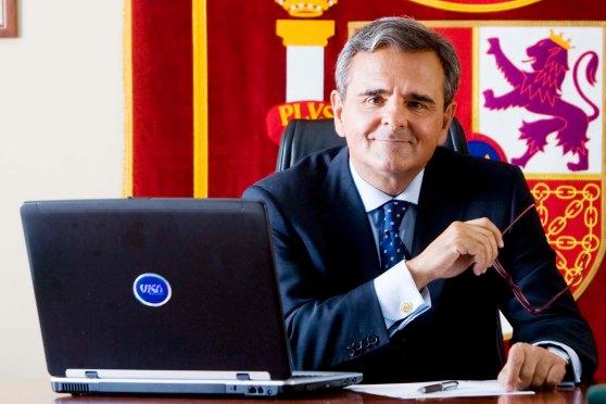Digital. Madrid 02/07/08 - Narciso de Foxa, alcalde de Majadahonda  - (c) Vicens Gimenez